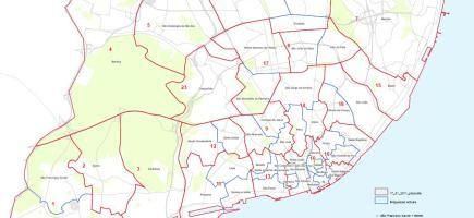 novo mapa de freguesias de lisboa O novo mapa das freguesias de Lisboa novo mapa de freguesias de lisboa