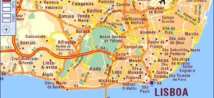o mapa de lisboa Aprovado novo mapa de Lisboa o mapa de lisboa